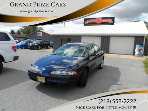 2001 Oldsmobile Intrigue for sale at Grand Prize Cars in Cedar Lake IN