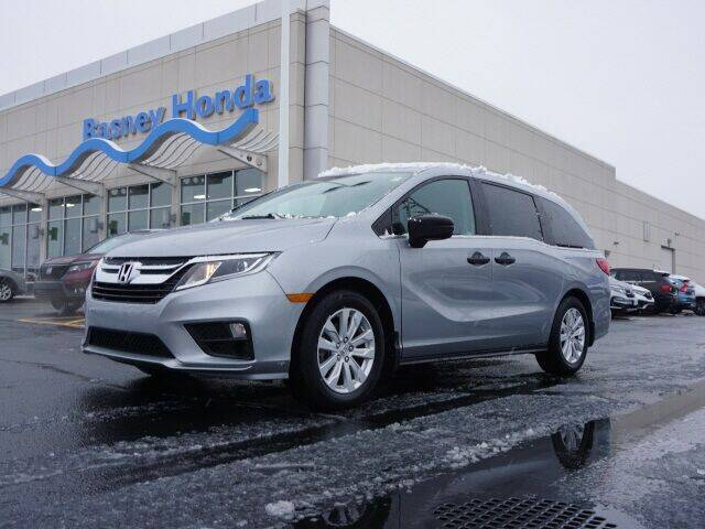 2018 Honda Odyssey for sale at BASNEY HONDA in Mishawaka IN