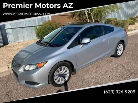 2012 Honda Civic for sale at Premier Motors AZ in Phoenix AZ