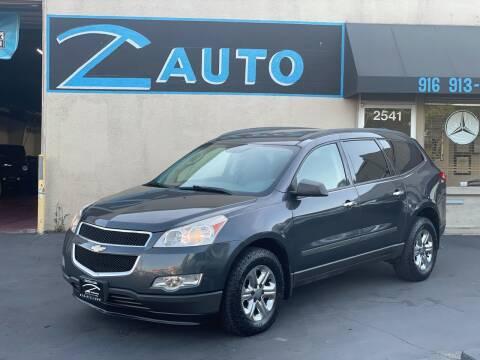 2012 Chevrolet Traverse for sale at Z Auto in Sacramento CA