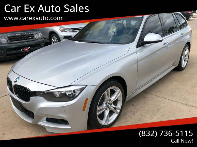 2015 BMW 3 Series for sale at Car Ex Auto Sales in Houston TX