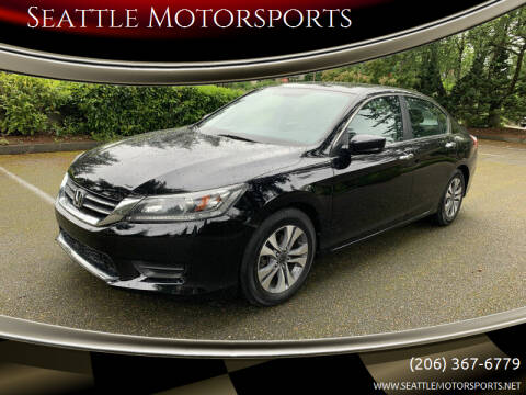 2014 Honda Accord for sale at Seattle Motorsports in Shoreline WA