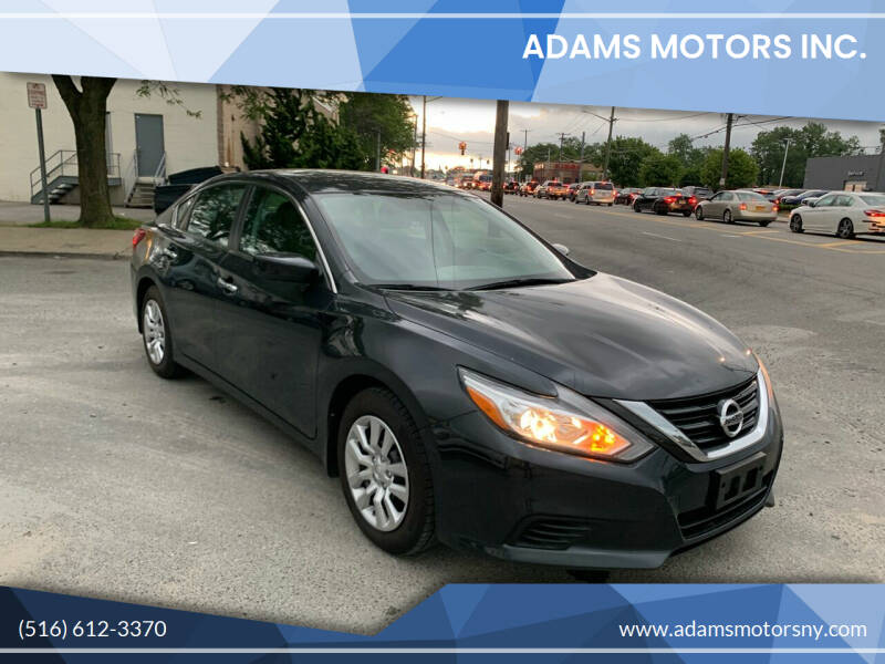 2017 Nissan Altima for sale at Adams Motors INC. in Inwood NY