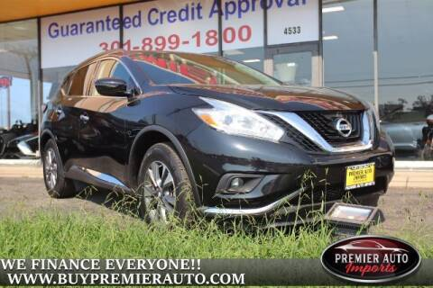 2017 Nissan Murano for sale at PREMIER AUTO IMPORTS - Temple Hills Location in Temple Hills MD