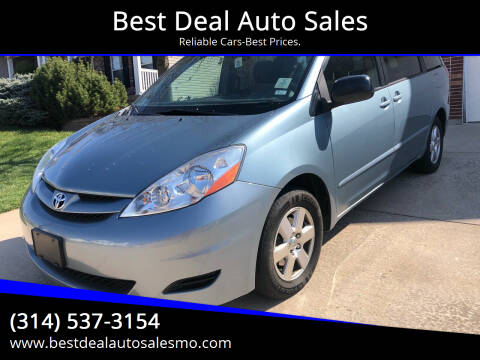 2009 Toyota Sienna for sale at Best Deal Auto Sales in Saint Charles MO