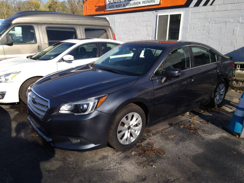 2015 Subaru Legacy for sale at SOUTH VALLEY AUTO in Torrington CT