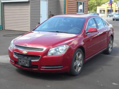 2012 Chevrolet Malibu for sale at MT MORRIS AUTO SALES INC in Mount Morris MI