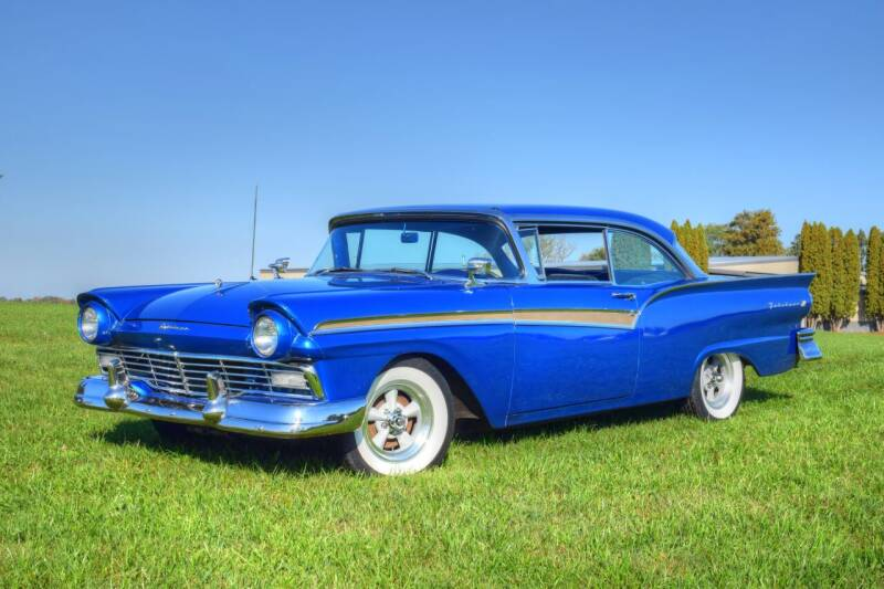 1957 Ford Fairlane for sale at Hooked On Classics in Watertown MN