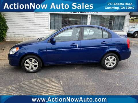 2011 Hyundai Accent for sale at ACTION NOW AUTO SALES in Cumming GA
