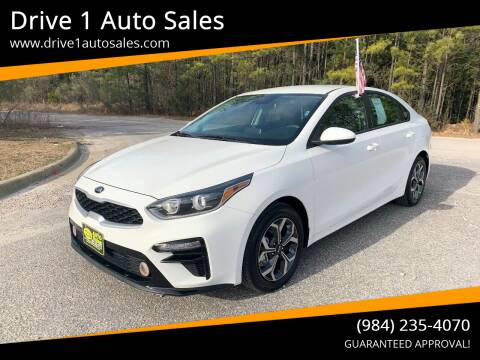 2019 Kia Forte for sale at Drive 1 Auto Sales in Wake Forest NC