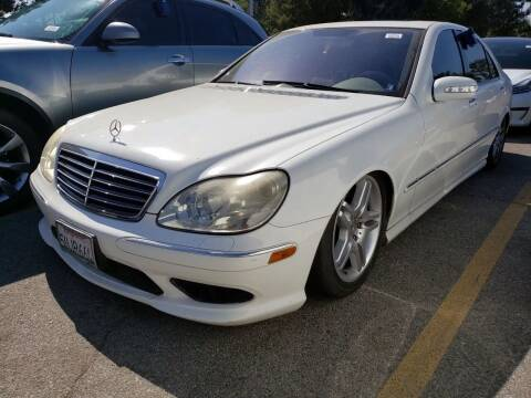2006 Mercedes-Benz S-Class for sale at McHenry Auto Sales in Modesto CA