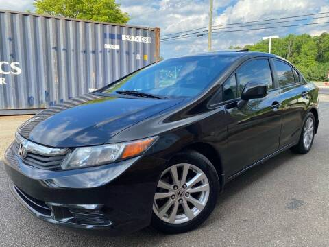 2012 Honda Civic for sale at Gwinnett Luxury Motors in Buford GA