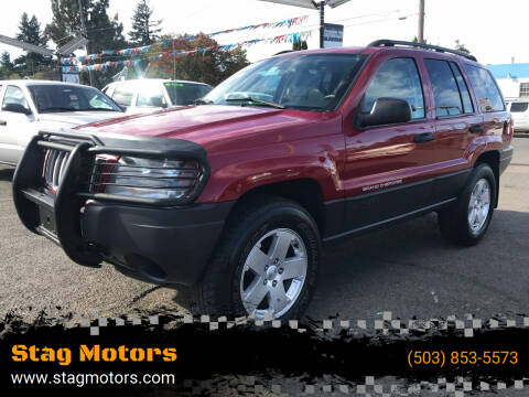 2004 Jeep Grand Cherokee for sale at Stag Motors in Portland OR