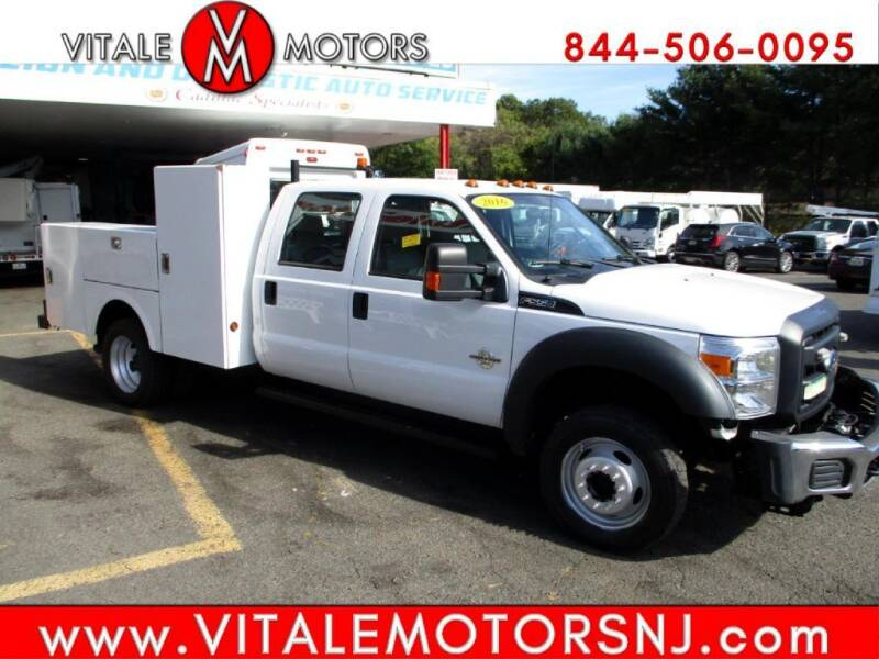 2016 Ford F-550 Super Duty for sale at Vitale Motors in South Amboy NJ