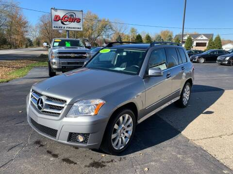 2011 Mercedes-Benz GLK for sale at D-Cars LLC in Zeeland MI