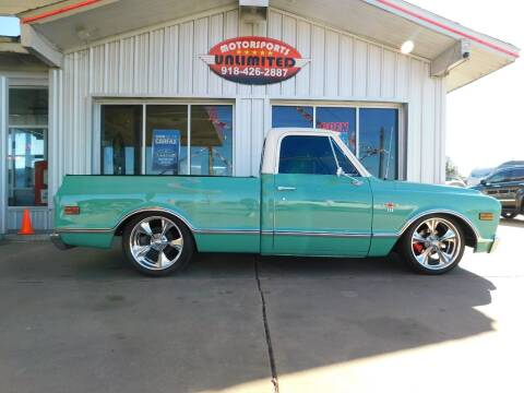 1968 Chevrolet C/K 10 Series for sale at Motorsports Unlimited in McAlester OK