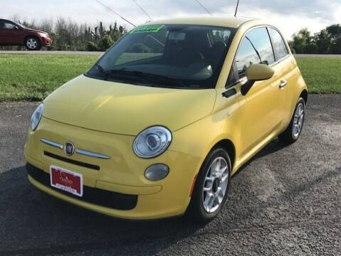 2012 FIAT 500 for sale at FUSION AUTO SALES in Spencerport NY
