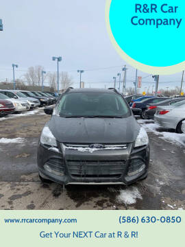 2016 Ford Escape for sale at R&R Car Company in Mount Clemens MI
