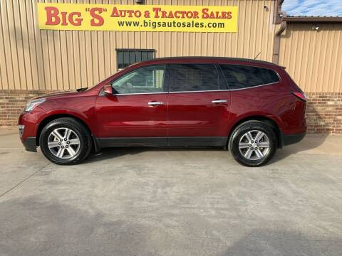 2015 Chevrolet Traverse for sale at BIG 'S' AUTO & TRACTOR SALES in Blanchard OK