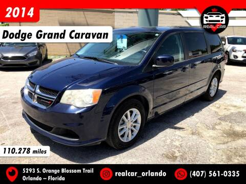 2014 Dodge Grand Caravan for sale at Real Car Sales in Orlando FL