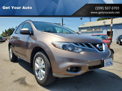 2013 Nissan Murano for sale at Get Your Auto in Ceres CA