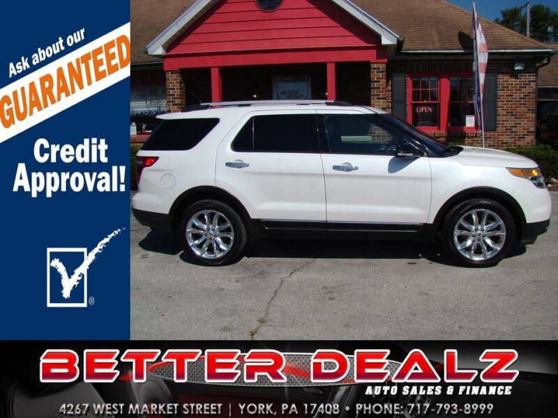 2014 Ford Explorer for sale at Better Dealz Auto Sales & Finance in York PA