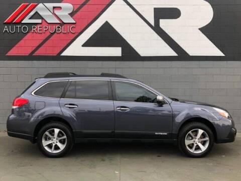2014 Subaru Outback for sale at Auto Republic Fullerton in Fullerton CA