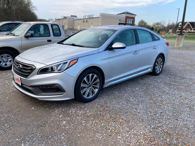 2016 Hyundai Sonata for sale at McCully's Automotive in Benton KY