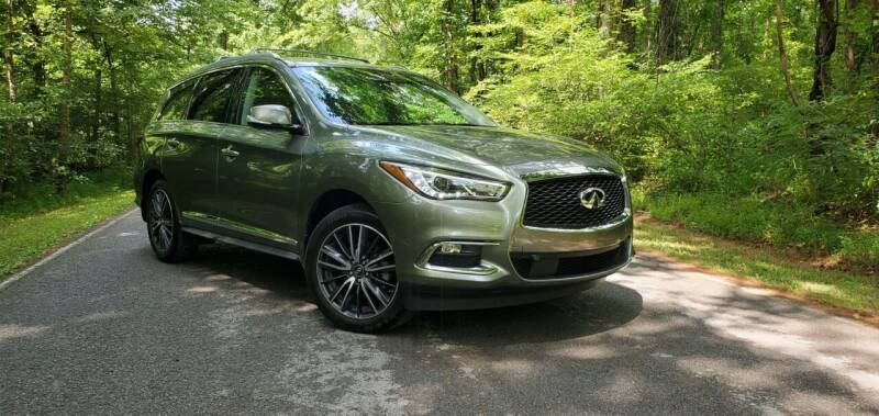 2017 Infiniti QX60 for sale at Ellis Auto Sales and Service in Middlesboro KY