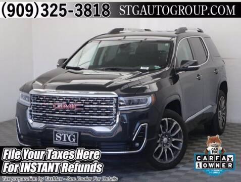 2020 GMC Acadia for sale at STG Auto Group in Montclair CA