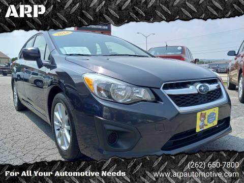 2014 Subaru Impreza for sale at ARP in Waukesha WI