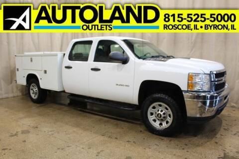 2013 Chevrolet Silverado 3500HD RWD for sale at AutoLand Outlets Inc in Roscoe IL