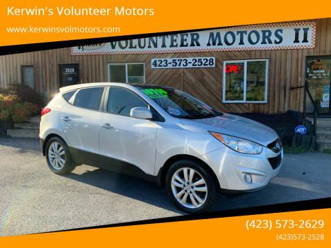 2013 Hyundai Tucson for sale at Kerwin's Volunteer Motors in Bristol TN