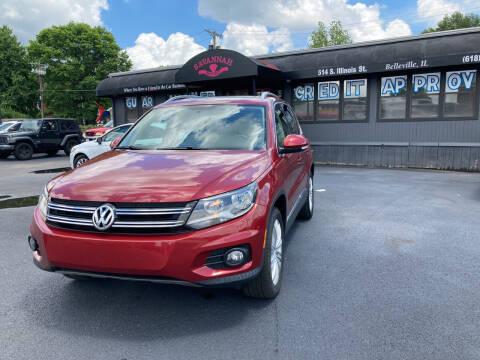 2014 Volkswagen Tiguan for sale at Savannah Motors in Belleville IL