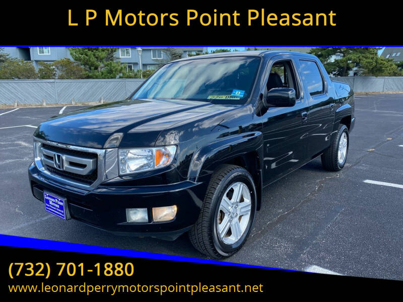 2011 Honda Ridgeline for sale at L P Motors Point Pleasant in Point Pleasant NJ