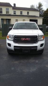 2016 GMC Canyon for sale at Clinton Auto Service - Sales in Clinton NY