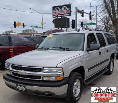 2005 Chevrolet Suburban for sale at Corridor Motors in Cedar Rapids IA