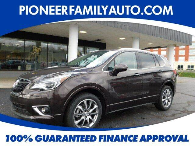 2020 Buick Envision for sale at Pioneer Family auto in Marietta OH