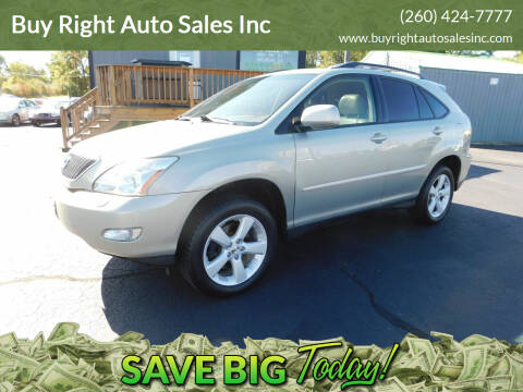2005 Lexus RX 330 for sale at Buy Right Auto Sales Inc in Fort Wayne IN