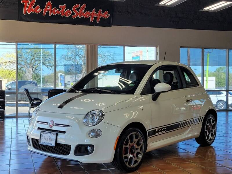 2012 FIAT 500 for sale at The Auto Shoppe in Springfield MO