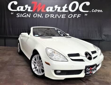 2009 Mercedes-Benz SLK for sale at CarMart OC in Costa Mesa, Orange County CA