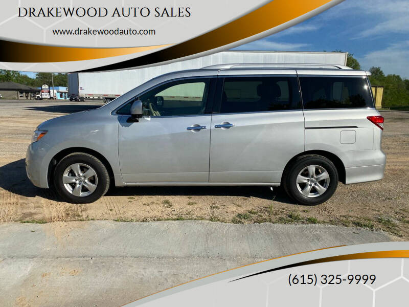 2016 Nissan Quest for sale at DRAKEWOOD AUTO SALES in Portland TN