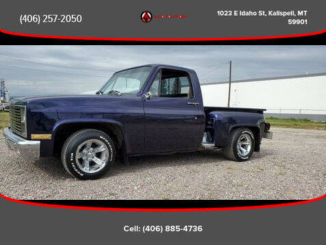 1982 GMC C/K 1500 Series for sale at Auto Solutions in Kalispell MT