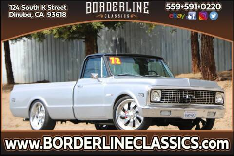 1972 Chevrolet C/K 10 Series for sale at Borderline Classics in Dinuba CA