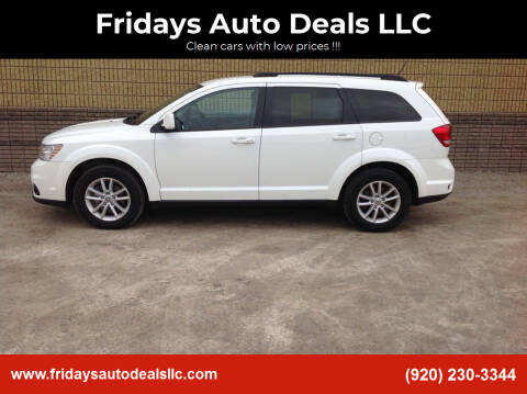 2015 Dodge Journey for sale at Fridays Auto Deals LLC in Oshkosh WI