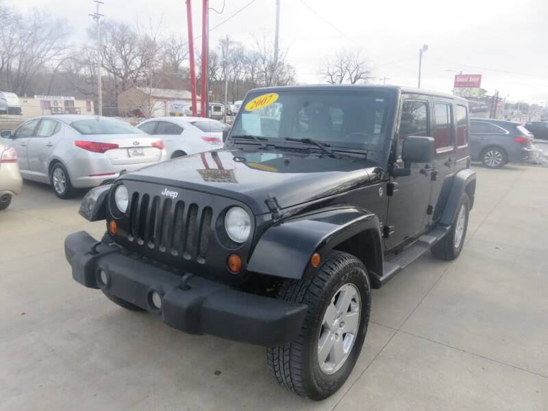 2007 Jeep Wrangler Unlimited for sale at Azteca Auto Sales LLC in Des Moines IA