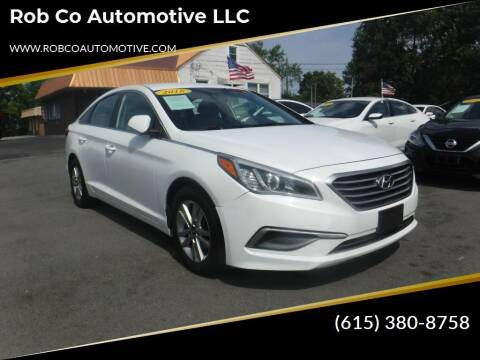 2016 Hyundai Sonata for sale at Rob Co Automotive LLC in Springfield TN