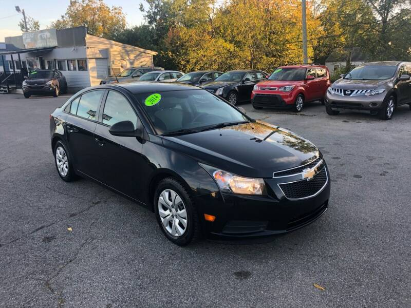 2014 Chevrolet Cruze for sale at LexTown Motors in Lexington KY