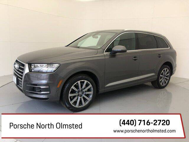 2019 Audi Q7 for sale at Porsche North Olmsted in North Olmsted OH