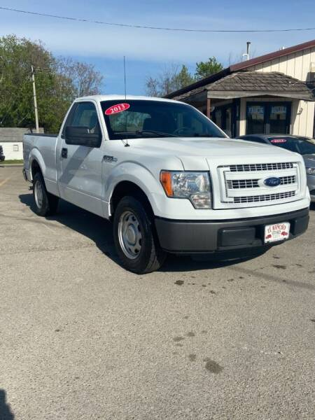 2013 Ford F-150 for sale at El Rancho Auto Sales in Des Moines IA